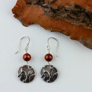 Earrings, Forest