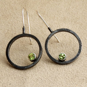 Modern Totality Earring