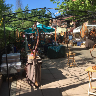 Mona's Monday – Why Eggtooth Originals loves Lithia Artisans Market at Ashland, Oregon