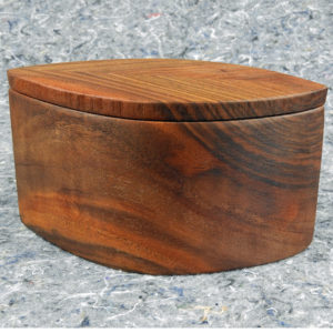 Walnut Hand Shaped Box