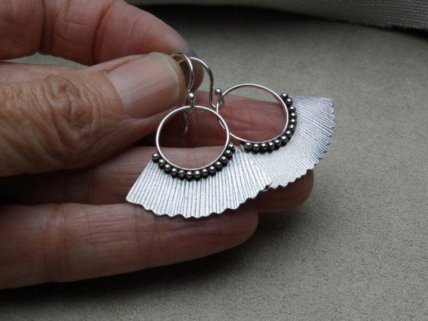 Ginkgo Leaf Earring Handmade